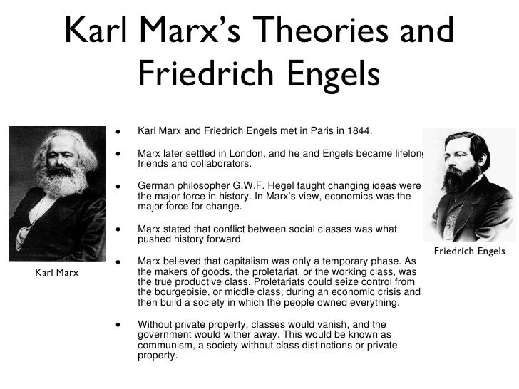 what was the relationship between karl marx and friedrich engels