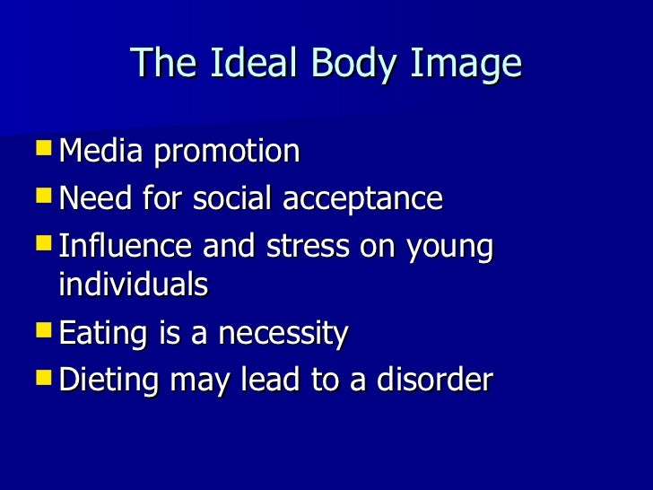 The medias role on promoting eating disorders