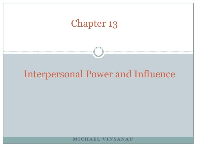 Interpersonal Skills and Self Development
