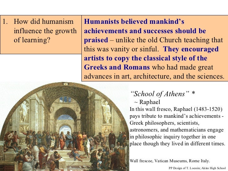 renaissance achievements
