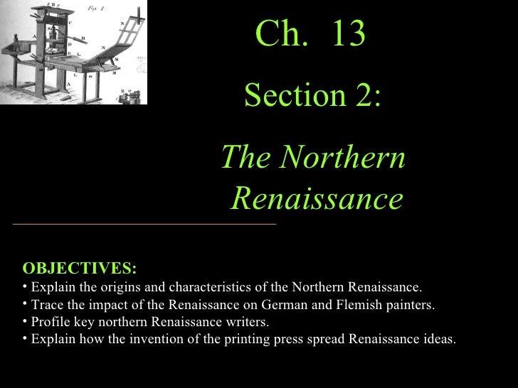 Ch 13 Northern Renaissance