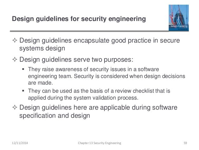 Ch13 Security Engineering