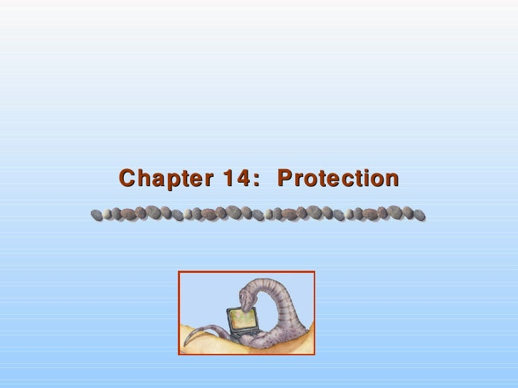 Chapter 14:  Protection