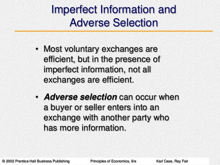 imperfect information Extensive games with imperfect information in strategic games, players must form beliefs about the other players' strategies, based on the presumed equilib.