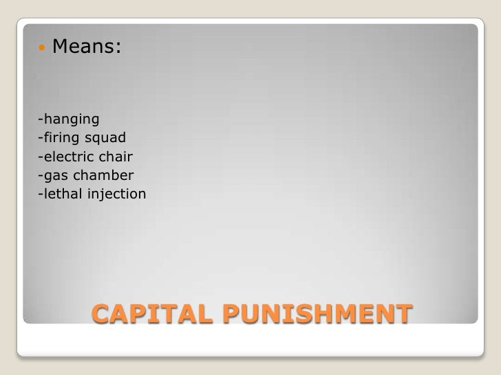 the cruelty of death and the need for capital punishment If you or a loved one has been charged with a capital offense, you need to speak with an offering justice and substance abuse information to the international dimension of the struggle against capital punishment wherever the death penalty is in force, it.