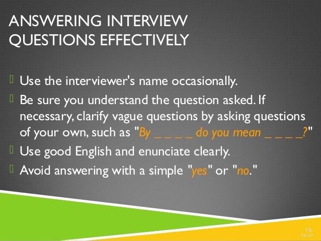 follow up questions after interview