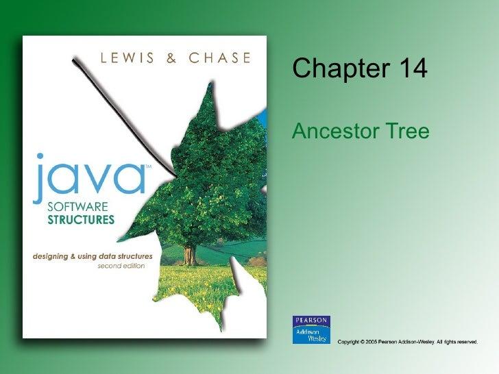 Chapter 14 Ancestor Tree