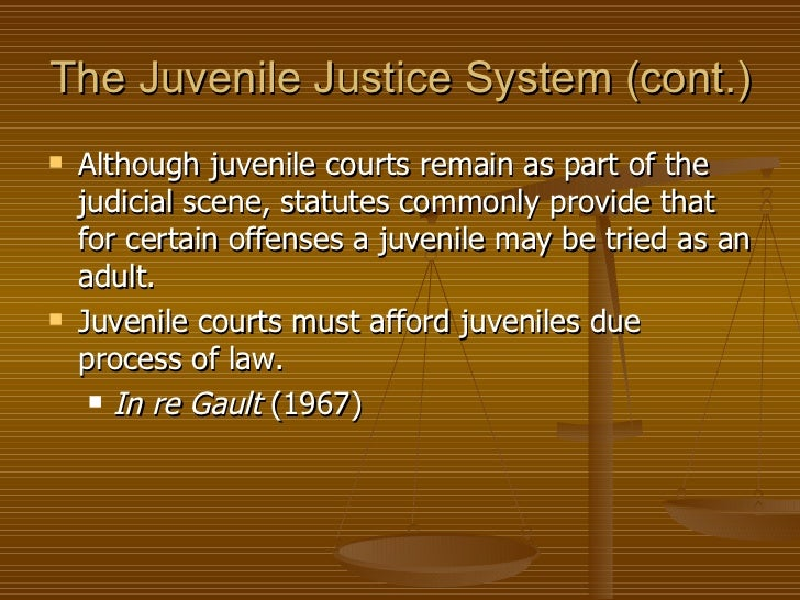 juvenile tried as adults Children tried as adults face longer sentences and fewer resources while  if  convicted in juvenile court, the 13-year-olds would have faced.