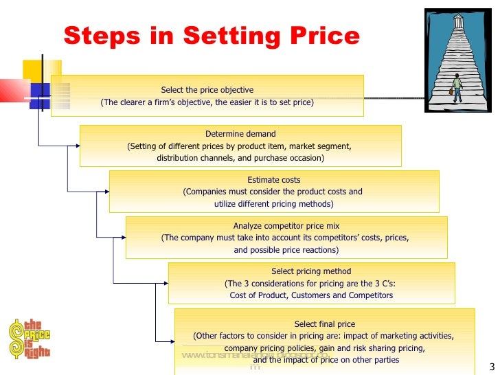 various factors that determine the price and value of a product or service As in the domestic market, the price at which a product or service is sold directly determines your company's revenues your firm's market research should include an evaluation of all variables that may affect the price range for your product or service.
