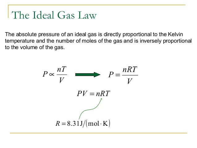 Ch 14 Ideal Gas Law & Kinetic Theory