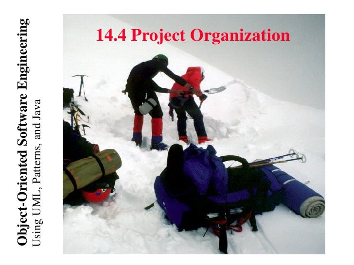 Object-Oriented Software EngineeringUsing UML, Patterns, and Java   14.4 Project Organization
