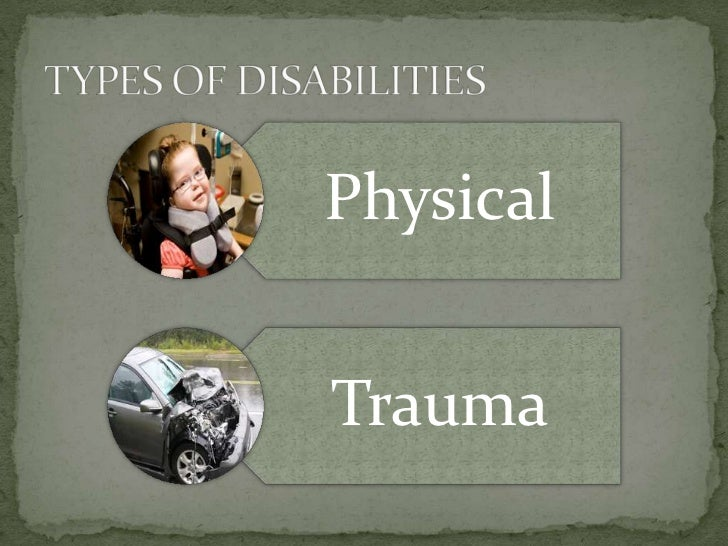 Physical Disabilties and TBI Slide 2