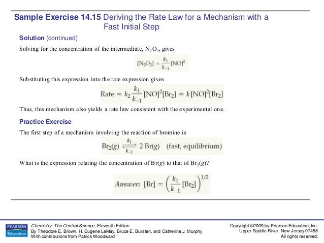 Ch14 sample exercise