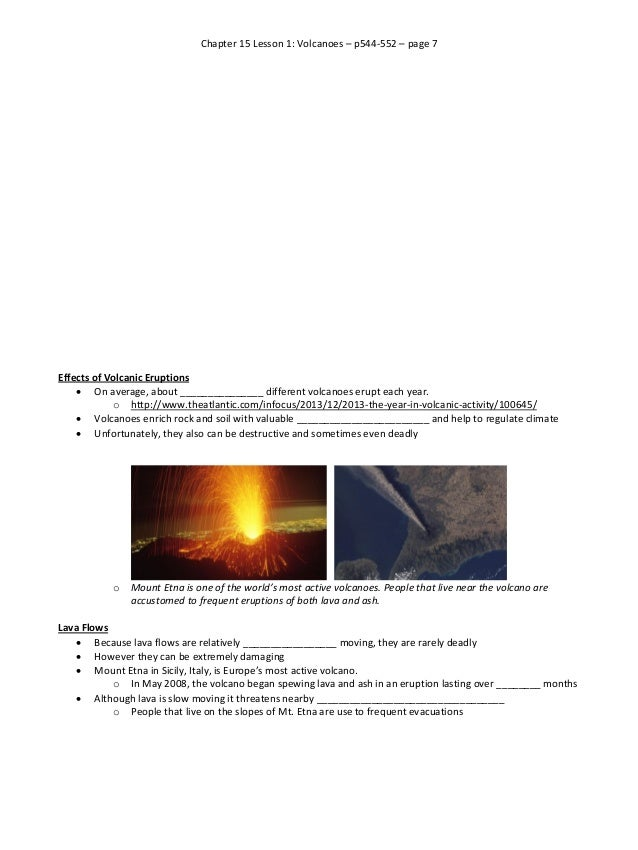 Volcano research paper