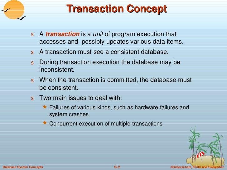 15. Transactions in DBMS Slide 2