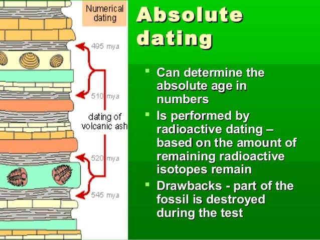 how is radioactive dating performed