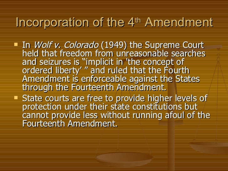 freedom against unreasonable search and seizure The search-and-seizure provisions of the fourth amendment are all about privacy to honor this freedom, the fourth amendment protects against unreasonable searches and seizures by state or federal law enforcement authorities.