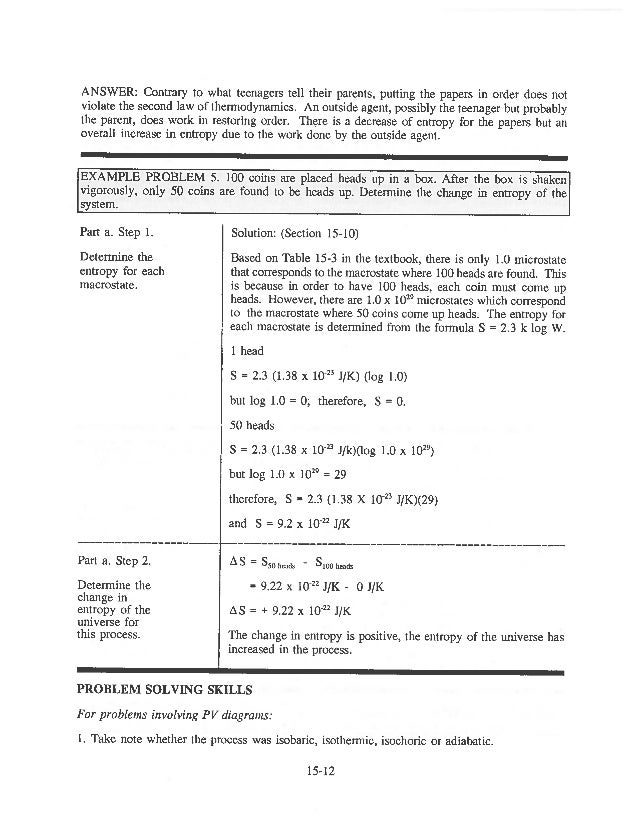 Thermodynamics Worksheet Answers Pixelpaperskin – Thermodynamics Worksheet