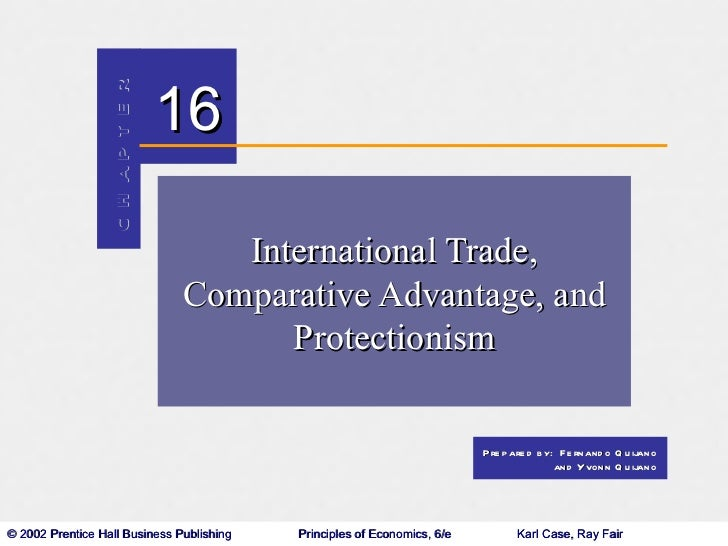 International Trade, Comparative Advantage, and Protectionism