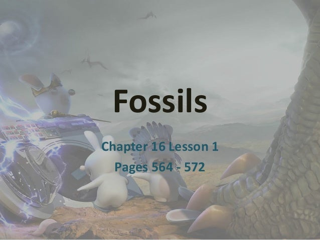 Fossils Chapter 16 Lesson 1 Pages 564 - 572
