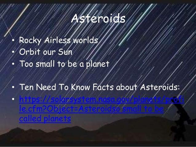 Ch 16 -cometsmeteorsasteroids