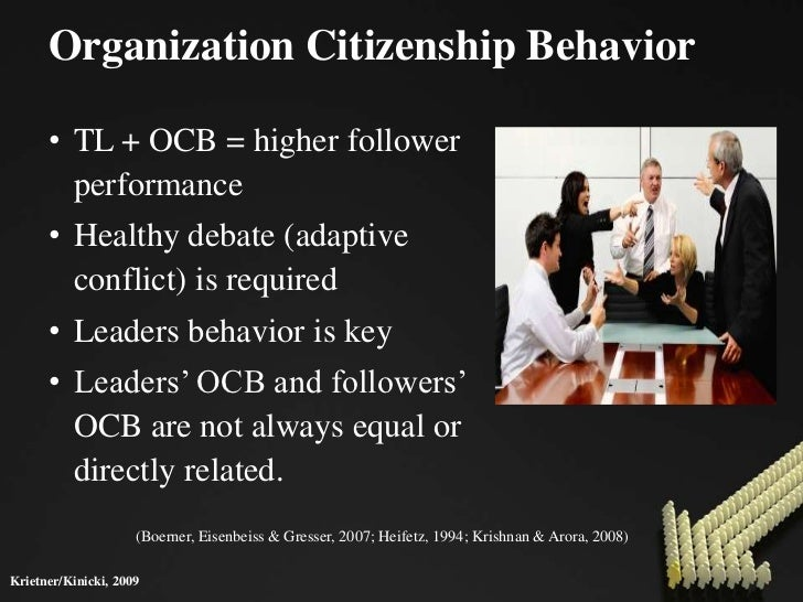Organisational Behaviour – Ocb and Cwb