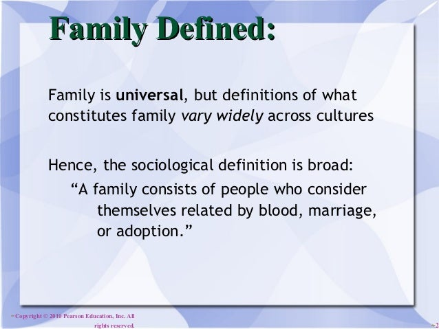 blended family definition sociology