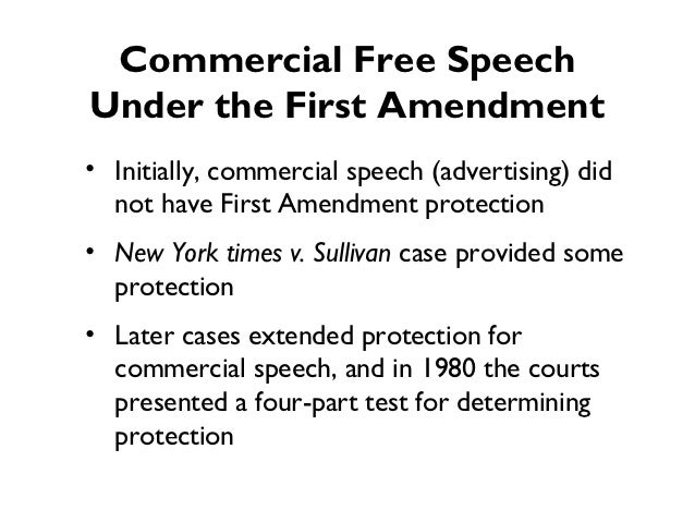 the new york times v sullivan case and the free speech of expression
