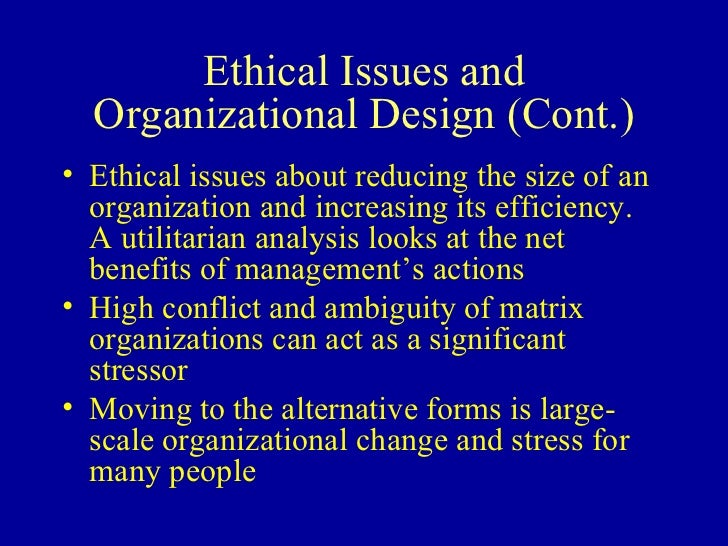 an analysis of the numerous changes in the structures of operation of organizations Environmental factors in strategic planning  when the organisation structure has many levels of management, decision making can be slow as information is carried .