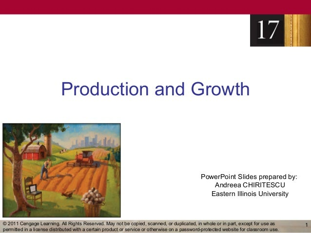 Production and Growth                                                                                              PowerPo...