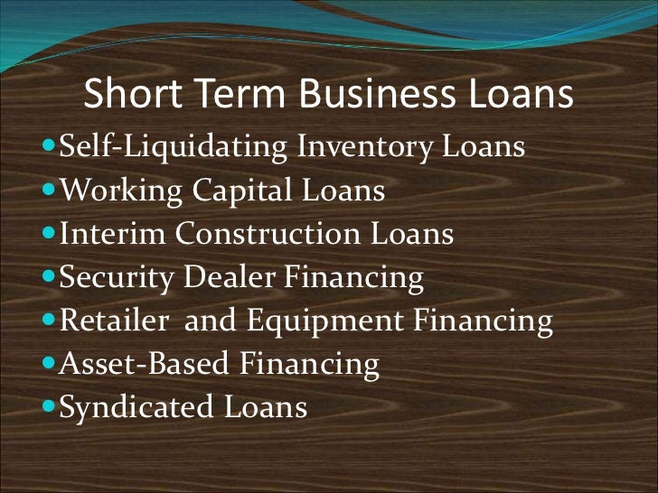 Self liquidating inventory and finance