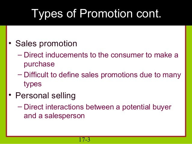 Ch 17 consumer behavior and promotion strategy