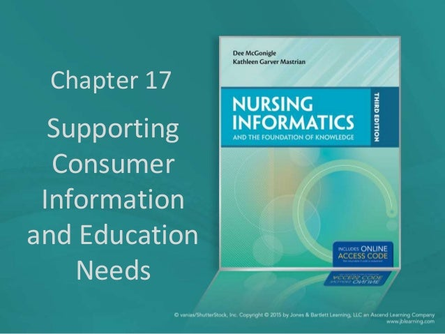 Chapter 17 Supporting Consumer Information and Education Needs