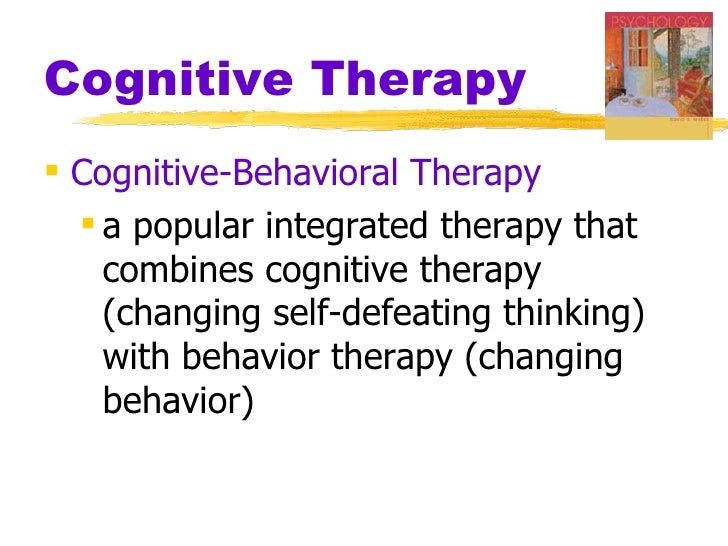 Ppt cognitive behavior therapy powerpoint presentation id:656272.