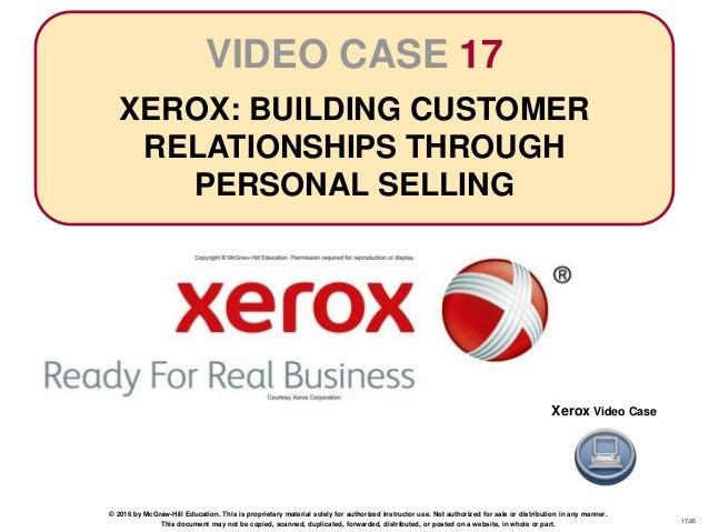 xerox sales training binder