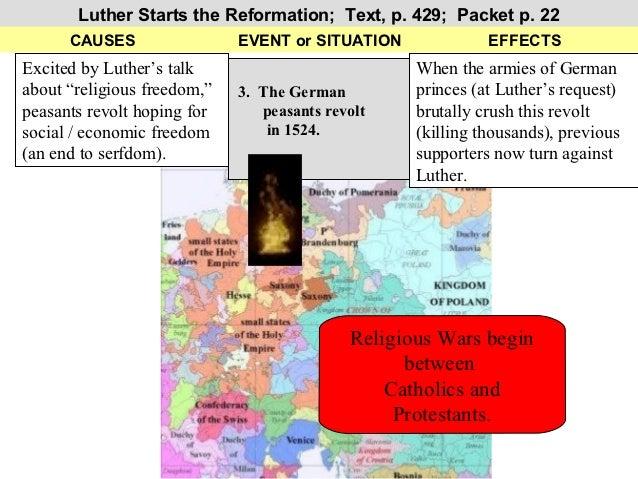 ch17 reformation rh slideshare net Martin Luther Protestant Reformation Martin Luther Protestant Reformation