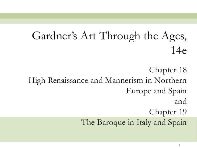 Gardner's Art Through the Ages,                           14e                                 Chapter 18High Renaissance a...