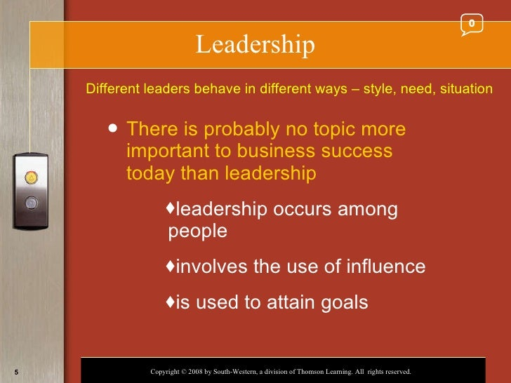 explain the 5 sources of leader Habit 5: seek first to understand, then to be understood® create an  atmosphere of helpful give-and-take by taking the time to fully understand issues,  and.