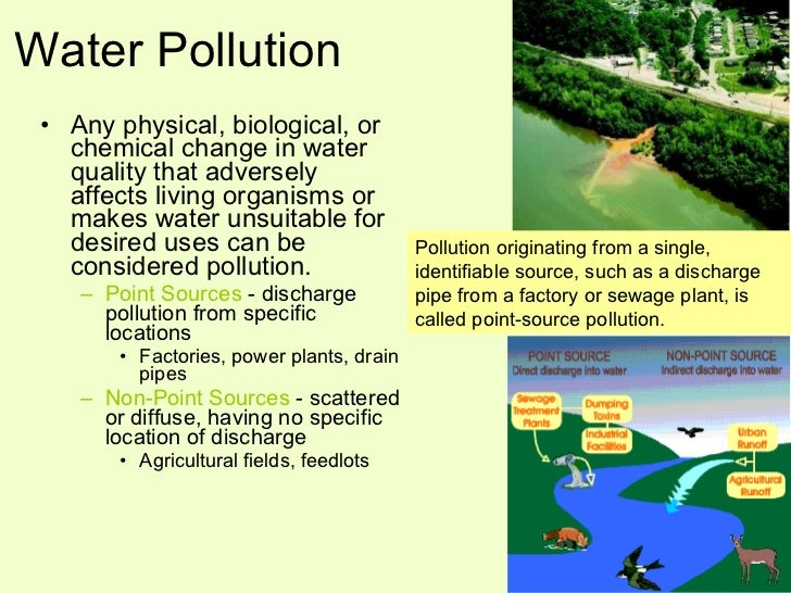 pollution control legislation for point sources 2014-9-9  the clean water act  of pollutants that point sources can  express authority to control nonpoint sources of water pollution and does not.