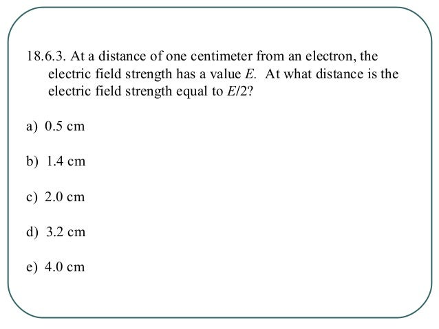 Ch 18: Electric Fields Section 7: Electric Field Lines