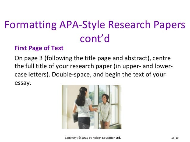 the mla style requires a separate title page for research papers Mla style papers: step-by-step instructions for  title your new page: works cited mla style calls  step-by-step instructions for formatting research papers.