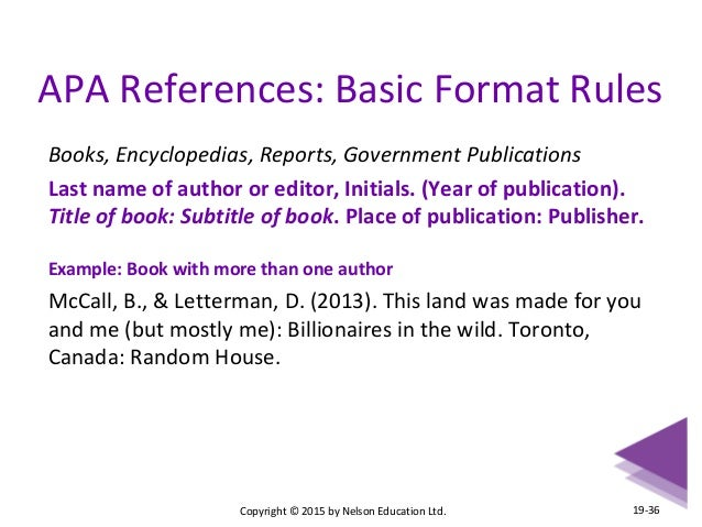 name of book in essay
