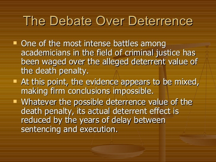 Discussion of Recent Deterrence Studies