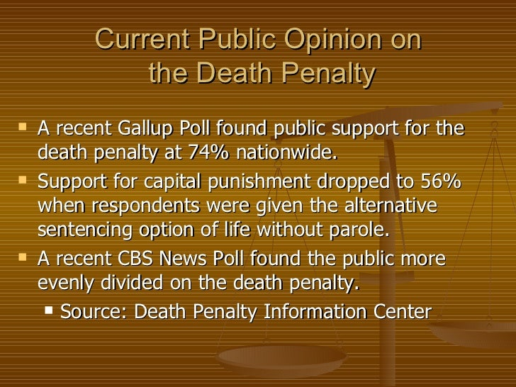 an examination of capital punishment as an appropriate sentence Murder, capital punishment, and deterrence: a review of the evidence and an examination of police killings william c bailey ci~v~land sid/~ uniwrsiry.