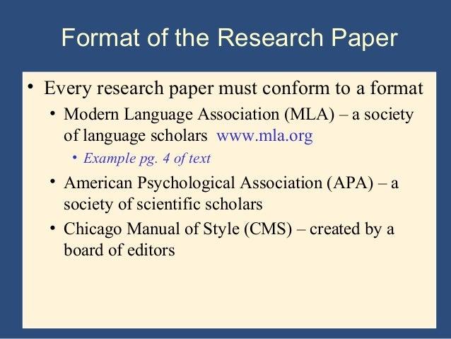 the basic research paper format Research paper format most college professors expect the same basic format for each paper received by mastering the basic structure rules, you will make your college career move along a lot smoother.