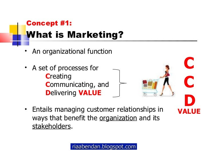 defining marketing for the 21st century Marketing is about identifying and meeting human and social needs it is the activity, set of institutions, and processes for creating, communicating, de.