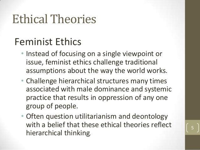 feminism deontology