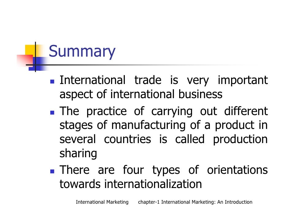 introduction to global marketing by theodore Free essay: strategy experience case study assignment course: strategic management wrsx global advertising & marketing communication phase 1 introduction.