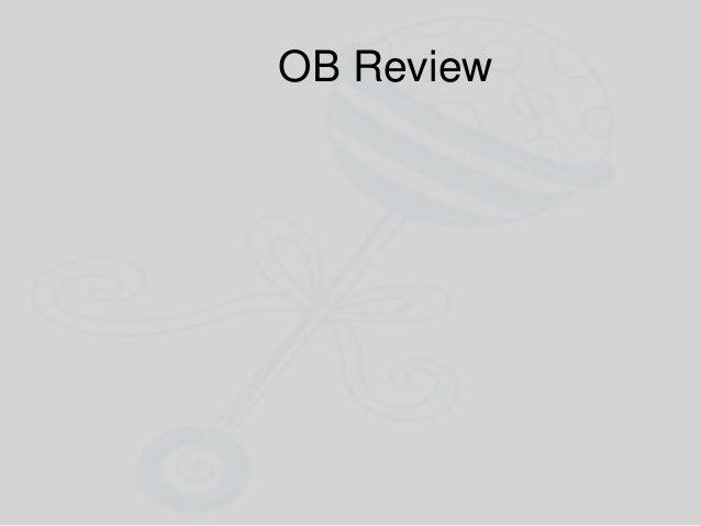 OB Review