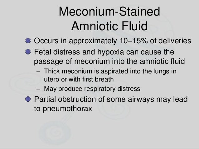 Prematurity Prematurity should not be a factor in short-term treatment Maintain airway and body temperature during transpo...